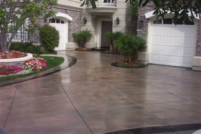 Stained Concrete Drivewaytraditional Phoenix