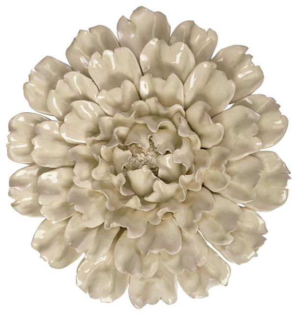 Isabella Ceramic Wall Decor Flower.