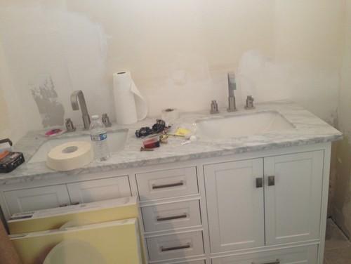 Big Gap Between Vanity And Wall