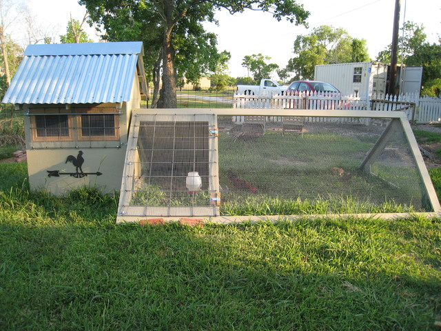 Chicken coop for Home run architecture