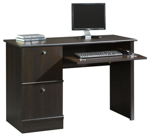 Sauder Select Computer Desk In Cinnamon Cherry.