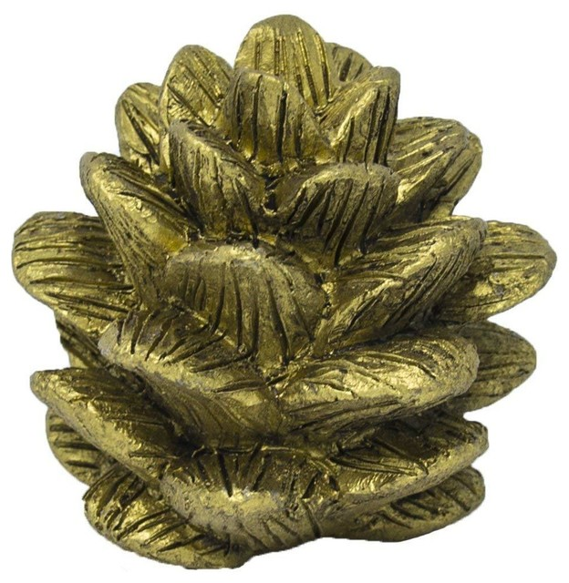Urbanest Pinecone Lamp Finial 1 3 4 Rustic Decorative Objects And Figurines By Urbanest Living