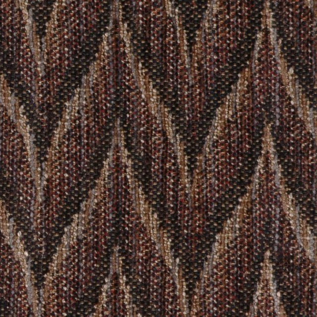 Flame Stitch - Blackthorn Upholstery Fabric