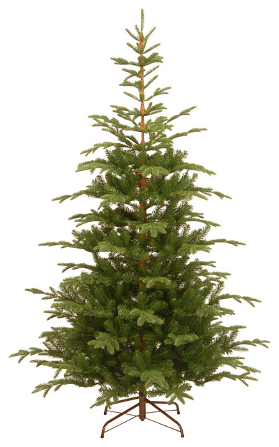 7.5' Norwegian Spruce Tree - Traditional - Christmas Trees - by ...
