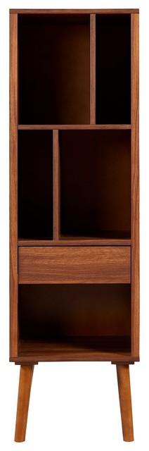 Versanora Edison Wooden Bookcase/Book Shelf Storage/Unit Display