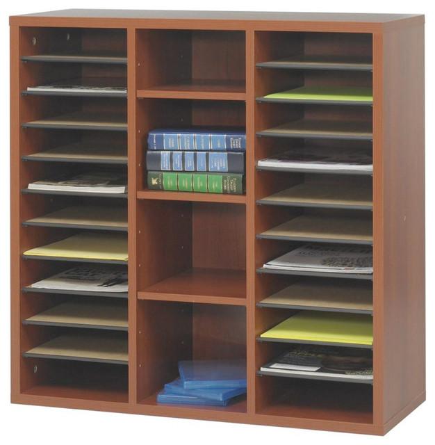 Safco - Safco Apres Modular Storage Literature Organizer & Reviews | Houzz
