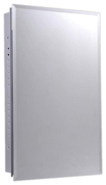 Ketcham Cabinets Euroline Series Surface Mounted Slim Style Medicine Cabinet.
