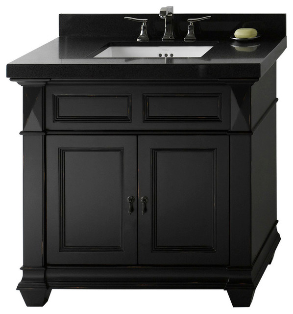 Ronbow Torino Solid Wood Vanity Set With Ceramic Sink 36