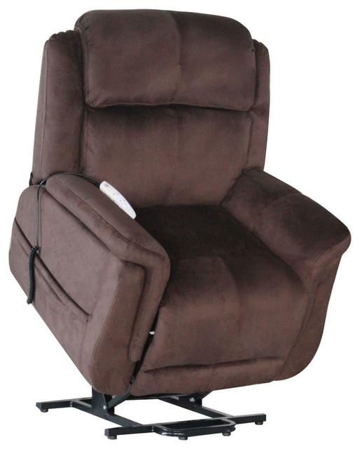Attrayant Serta Comfort Lift Hampton Lay Flat Lift Chair, Walnut