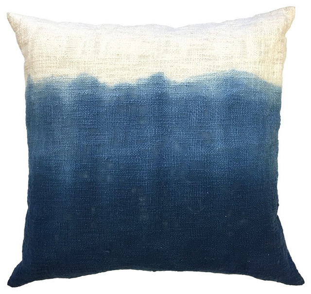 Blue, Sugarboo Designs Ink Tapestry Pillow - Contemporary - Decorative Pillows - by Design to ...