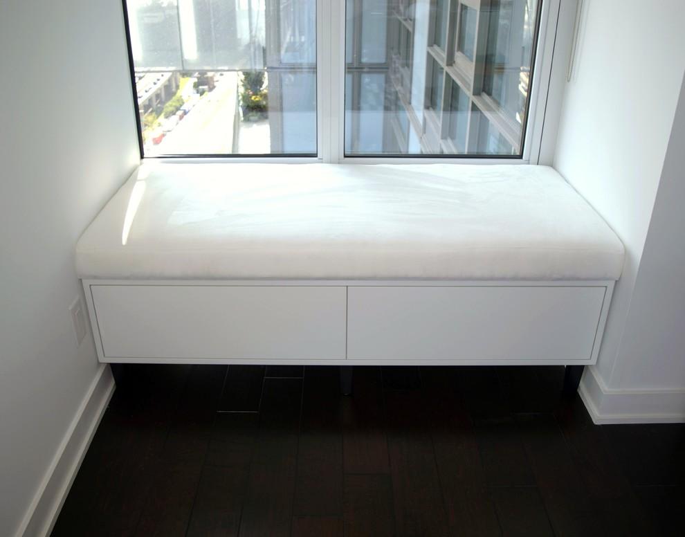 Custom Made Bench with Storage