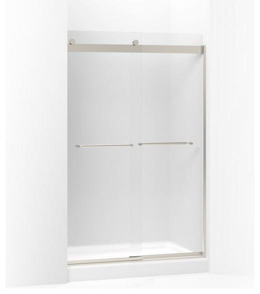 Kohler Levity Sliding Shower Door 74 H X 44 5 8 47 W Matte Nickel