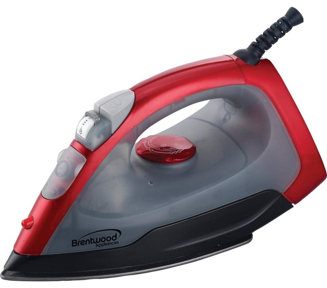 Brentwood Nonstick Steam-Dry, Spray Iron.