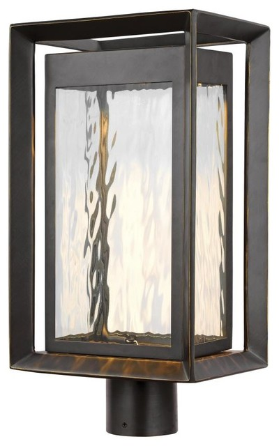 Feiss Ol13707anbz-L1 Urbandale Outdoor Post Light, Antique Bronze.