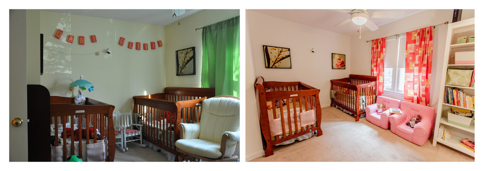 Before and after: nursery