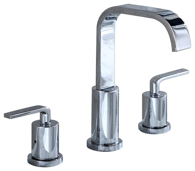 Luxier Bathroom Vanity Sink Widespread Lavatory Faucet Lead Free ...
