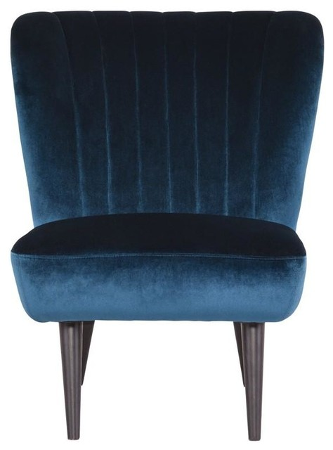 Terrific Yale Midnight Blue Occasional Chair Andrewgaddart Wooden Chair Designs For Living Room Andrewgaddartcom
