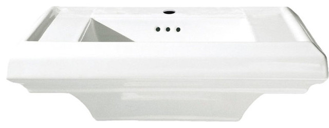 American Standard 0790.001.020 Town Square Sink Top, White.