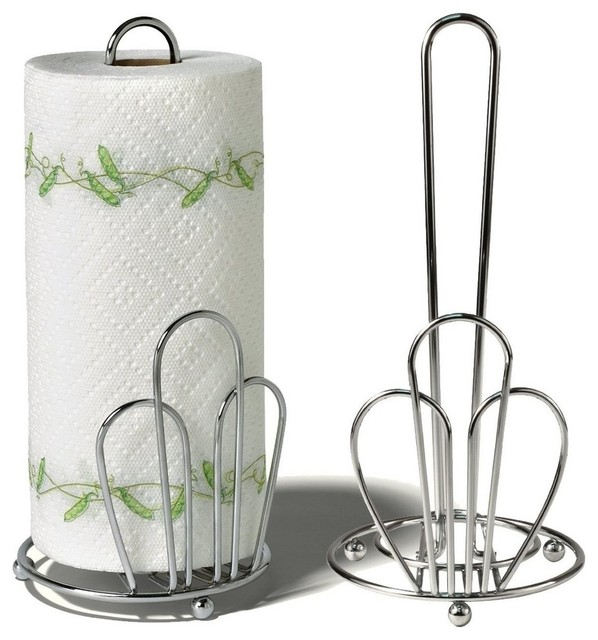Spectrum Diversified Design - Bloom Paper Towel Holder - Chrome - View in Your Room! | Houzz