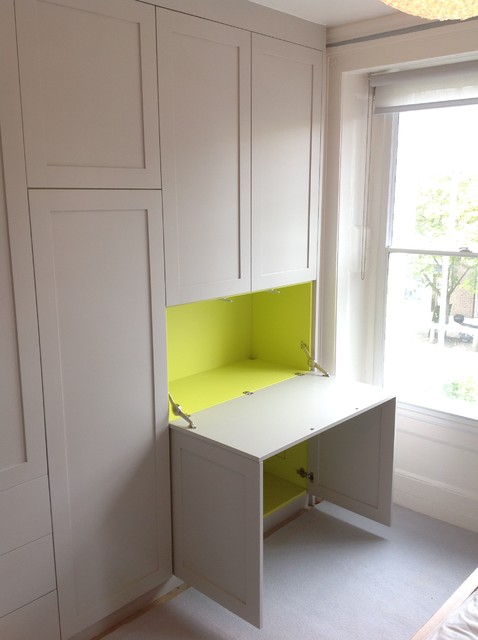 Kentish Town Ed Wardrobe Desk Modern