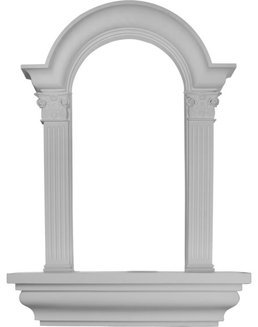 "Hillsborough Wall Niche, Surface Mount, 30 1/4""w X 42 5/8""h X 6 7/8""d."