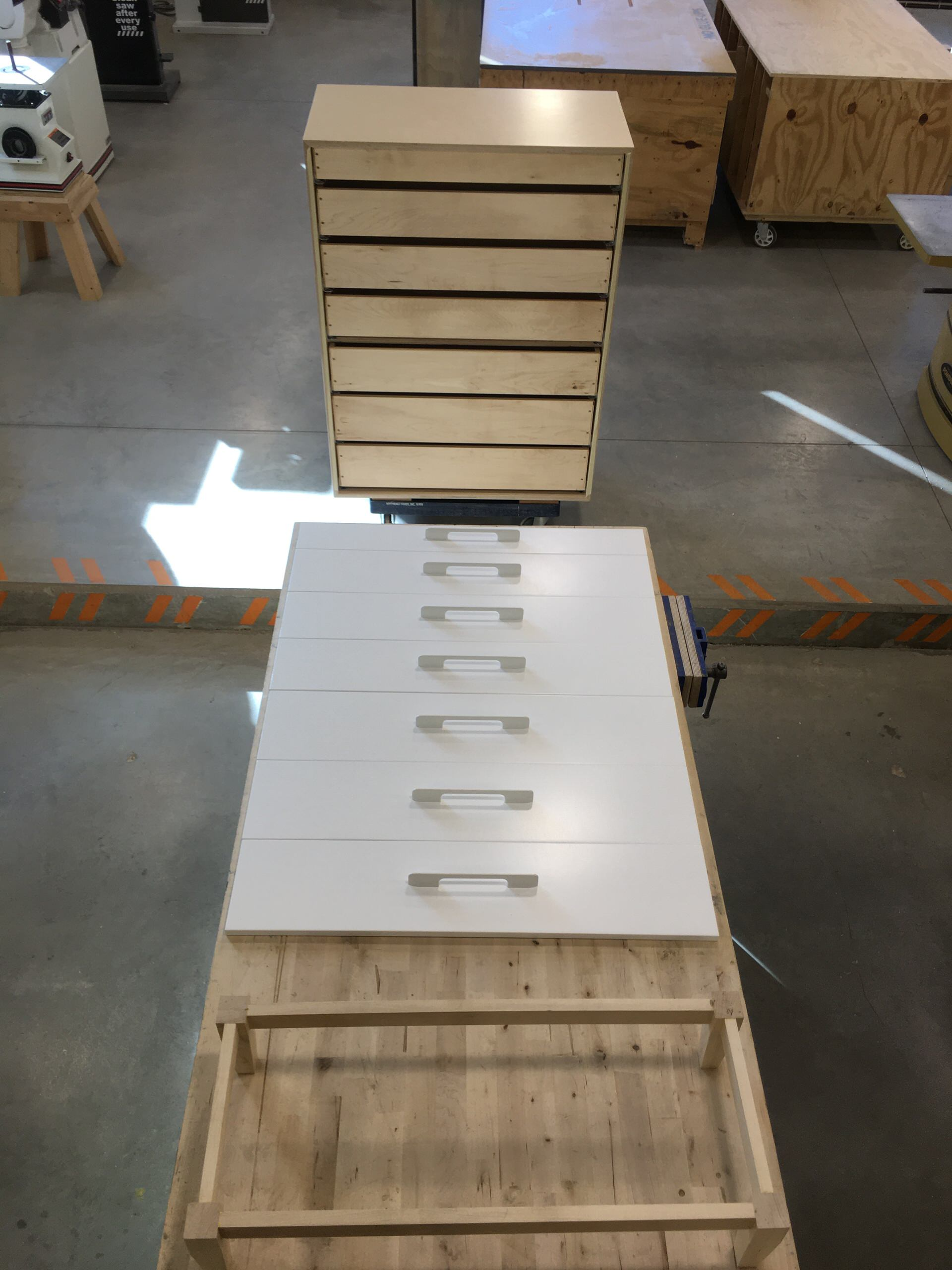 Dresser as part of Custom Home Office Project