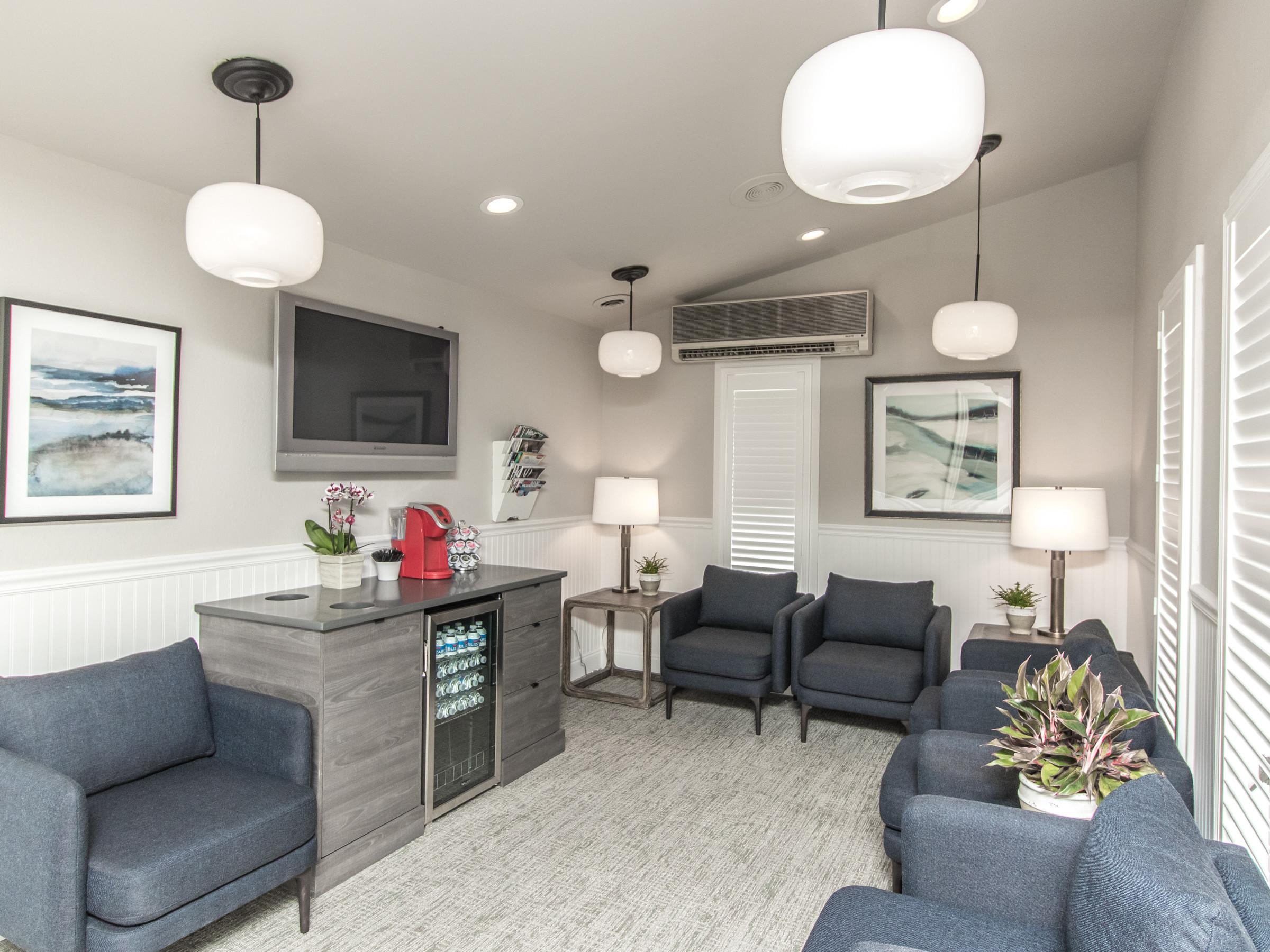 Dental Office Renovations - Waiting Room