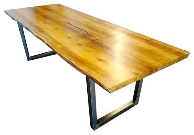 Sold Out Modern Reclaimed Wood Slab Dining Table 3 100 Est Retail 2 50