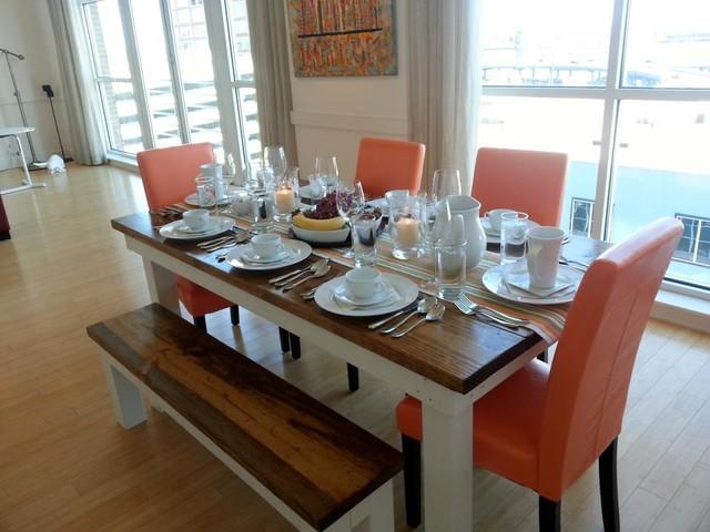 James 6ft Farmhouse Table