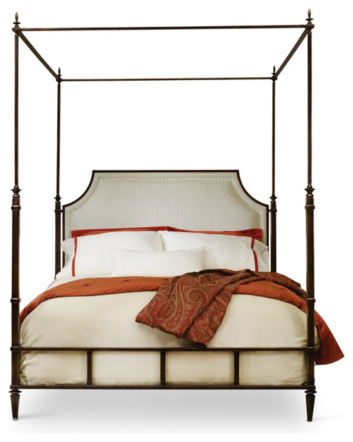 Metal Queen Bed.