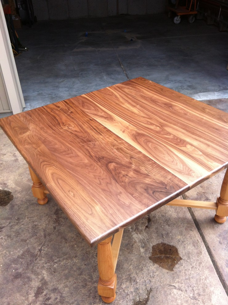 Walnut and Alder Table