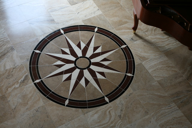 Floor Medallion Eclectic Chicago By Exceed Floor Home