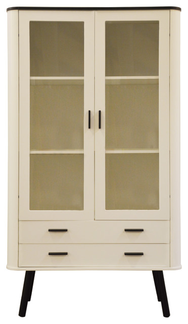 NJA Furniture NJA Furniture Piano Glass Door Cabinet - China Cabinets And Hutches | Houzz