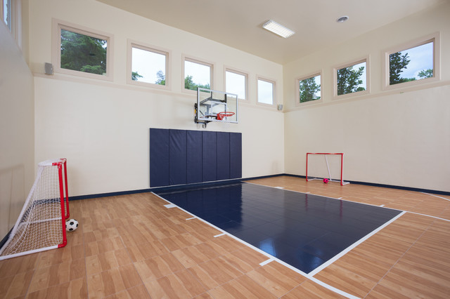 Indoor sport courts for House plans with indoor sport court