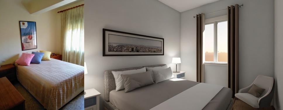Dormitorio 2 - Antes y propuesta
