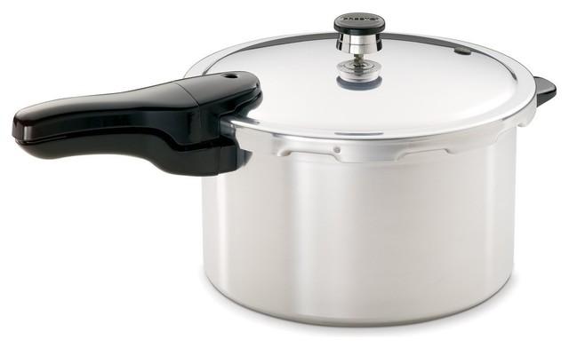 Presto 8-Quart Pressure Cooker, Aluminum.