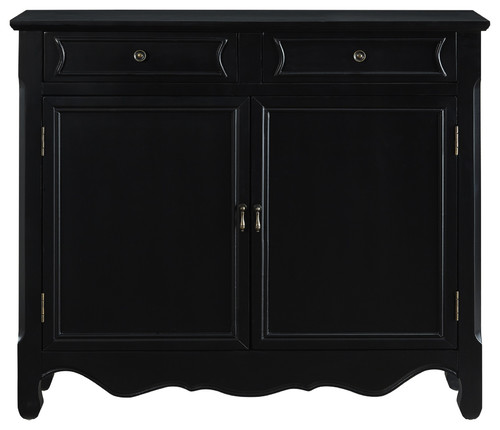 Powell Home Fashions 246-333 Masterpiece 41 Inch Wide 2 Drawer Storage Cabinet