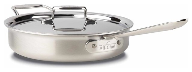 All Clad D5 Brushed Ss Saute Pan, 3 Qt..