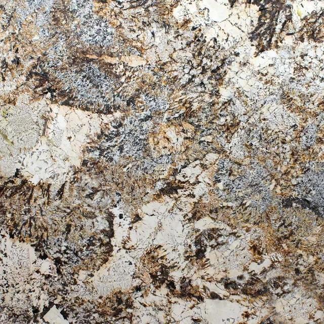 Various Sized Caravelas Gold Countertop Granite Slab