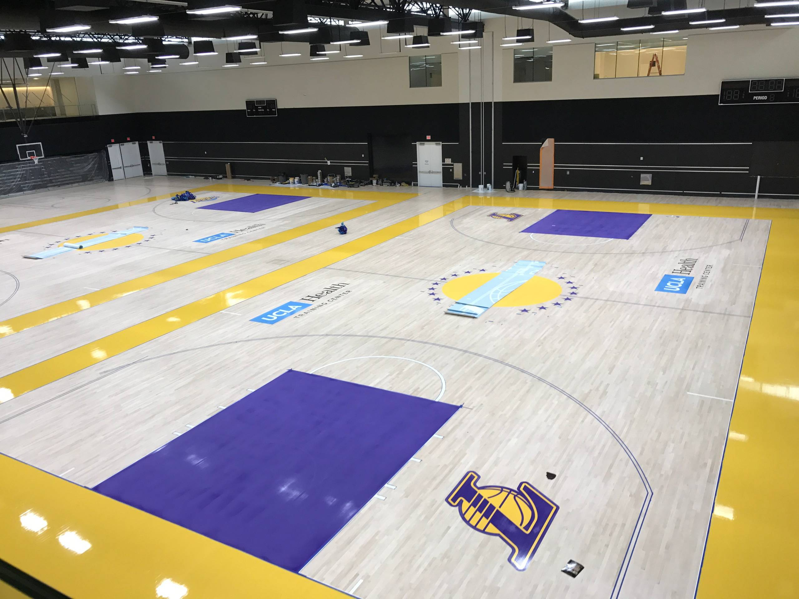 Los Angeles Lakers Media and Automation
