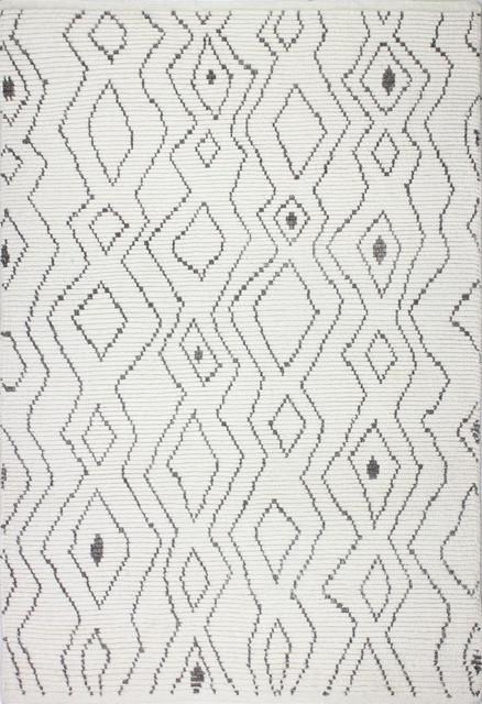 Bashian Elke Ivory Area Rug, 8.6&x27;x11.6&x27;.