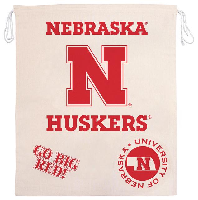 Ncaa Licensed Collegiate Laundry Bag, University Of Nebraska.
