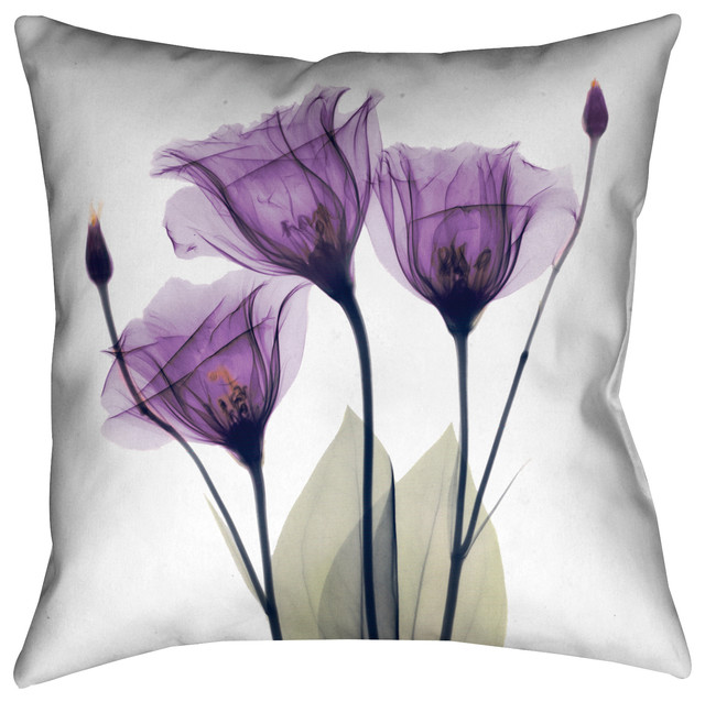 Laural Home Lavender Hope Decorative Pillow.