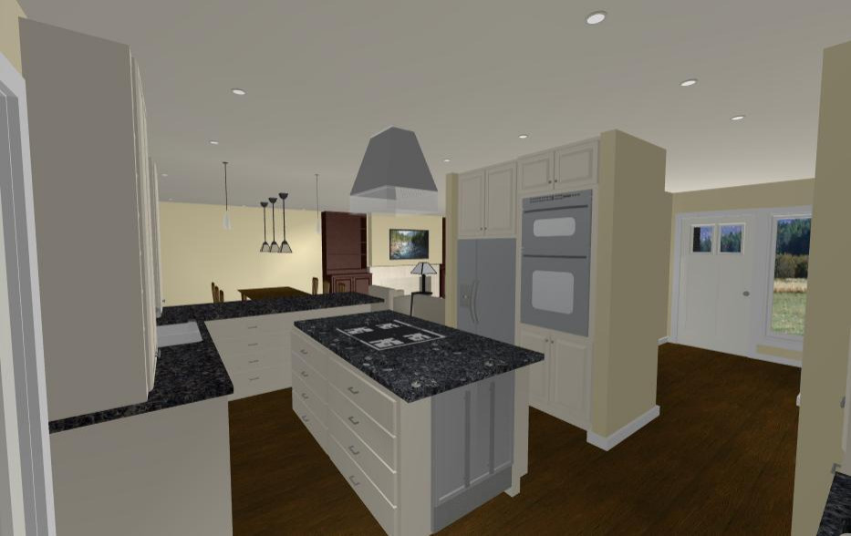 Kitchen Opposite Angle After