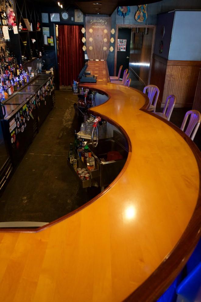 Guitar Shaped Bar
