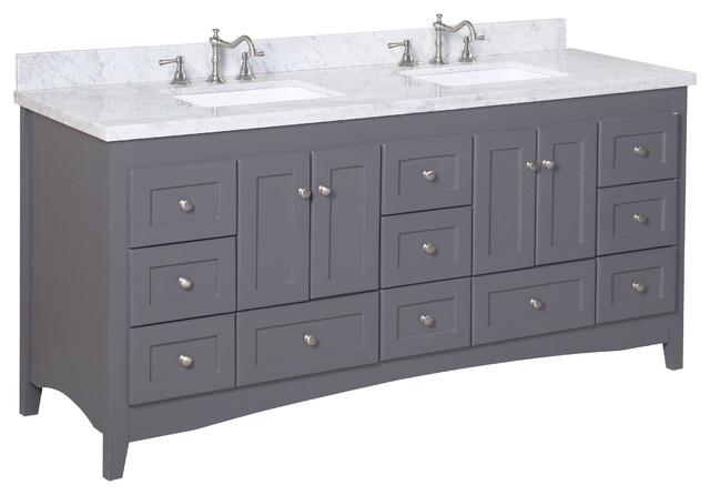 abbey 72 double bath vanity contemporary bathroom vanities and