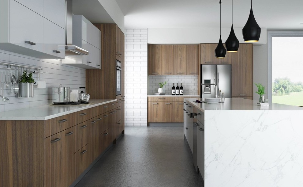 High End Kitchens - Contemporary - Miami - by Omax Home Inc