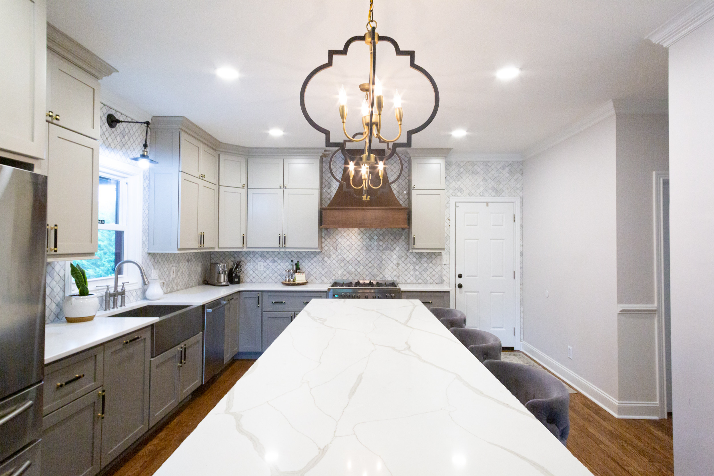 SHADES OF GRAY KITCHEN REMODEL