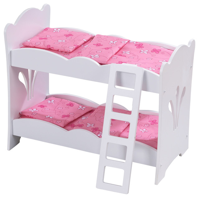 Kidkraft Lil Doll Bunk Bed Contemporary Kids Toys And Games