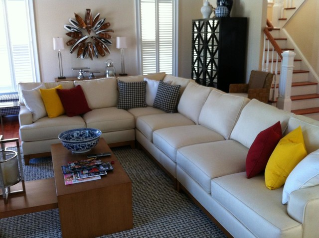 Arcata Sectional By Ethan Allen Eclectic